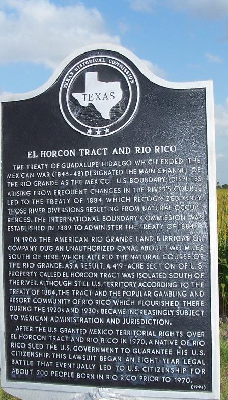 El Horican Tract and Rio Rico