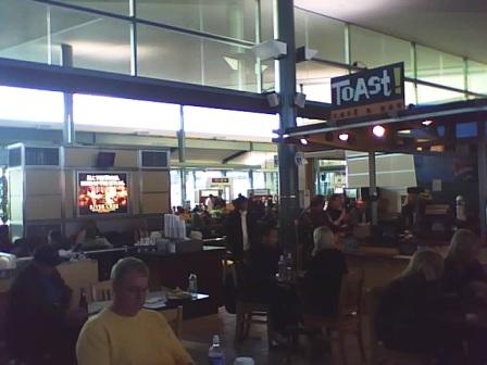 Edmonton Airport Gate