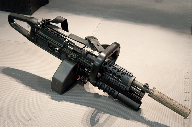 Fotos - Machine Gun Chain Saw M110 Sniper Rifle Suppressed