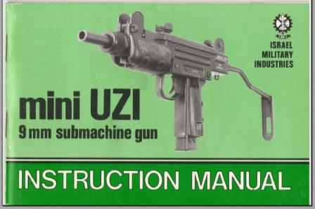 mini uzi 9mm submachinegun instruction manual at traction control rh tractioncontrol well regulatedmilitia org User Manual PDF User Manual PDF
