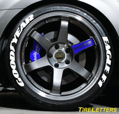 goodyear white letters at traction control