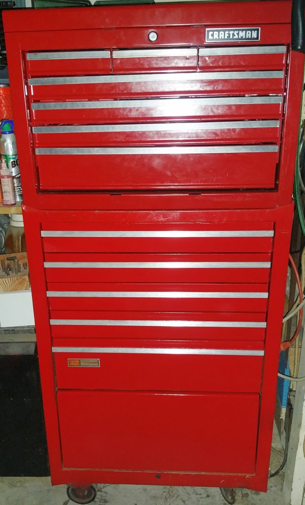 Note To Craftsman Toolbox Owners For Paint Color Matching At Traction Control